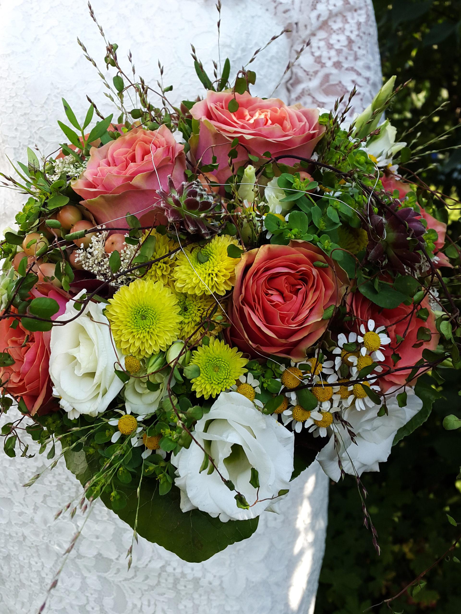 Brautstrauß Mit Vintage Rosen