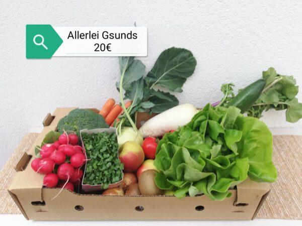 Schunke Gemüsekiste Allerlei Gsunds 20EUR